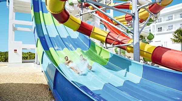 Image: Riu Republica water slide
