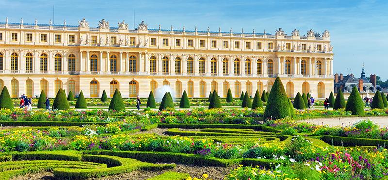Chateau de Versailles in Versailles France