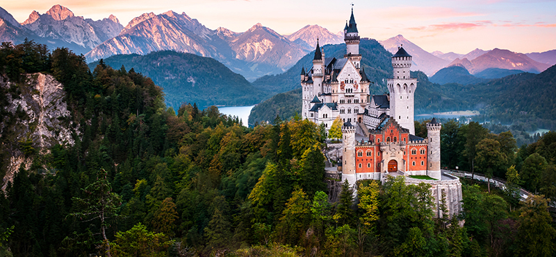 Neuschwanstein Castle in Schwangau Germany