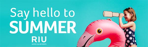 Say hello to summer at RIU
