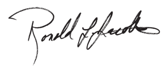 Ron Jacobs Signature