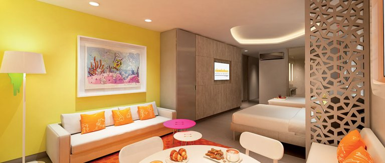 Nickelodeon Hotel Room