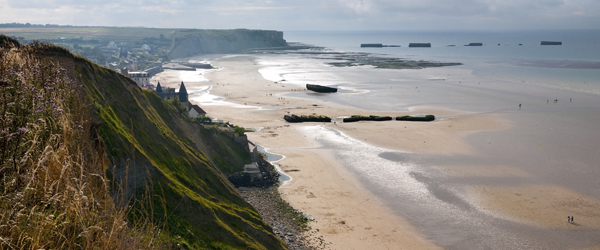 Arromanches beach